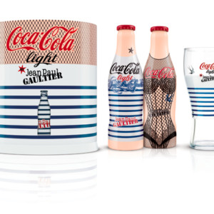 Botellas Jean Paul Gautier Coca Cola Light