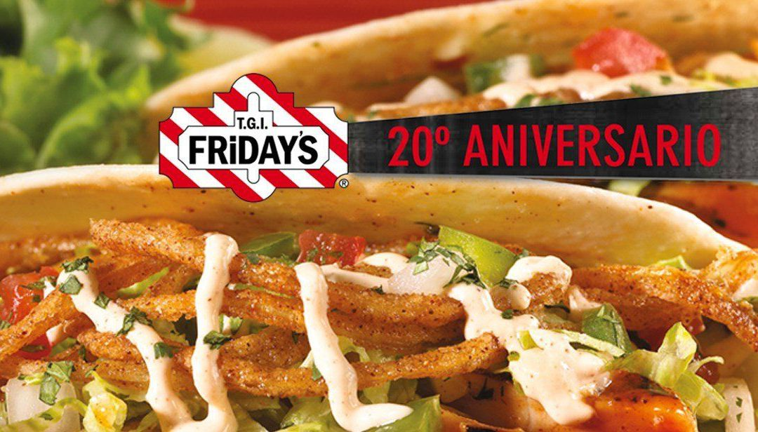20 Aniversario de TGI Friday's