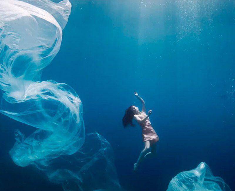 Oceano contaminado