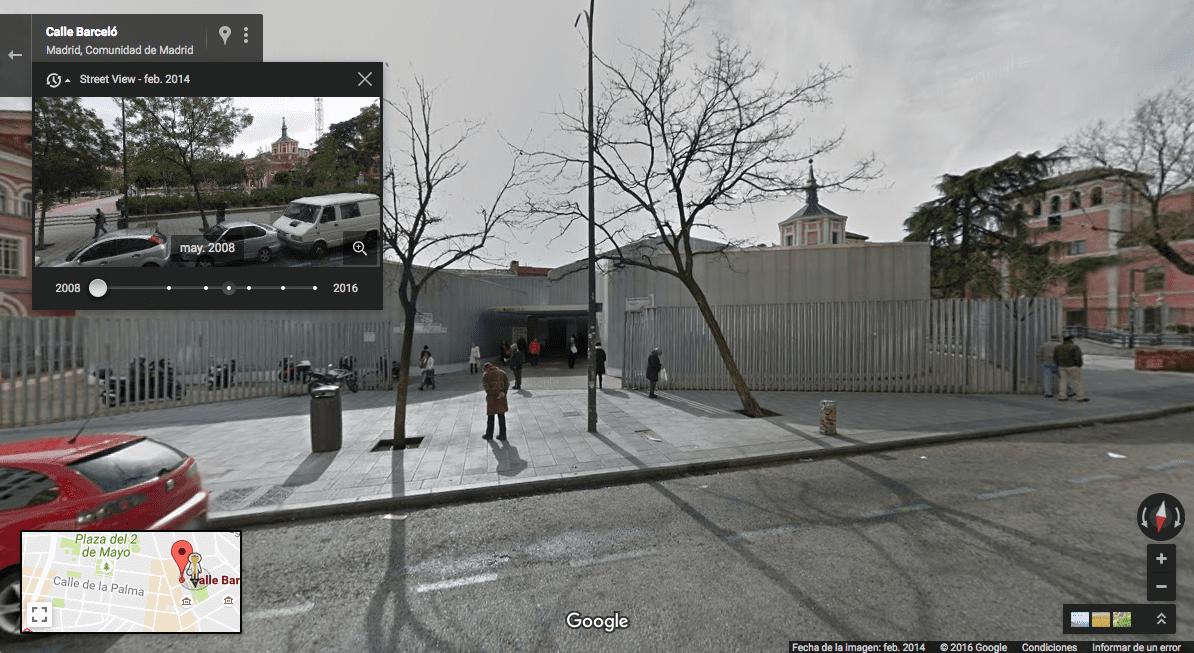Ejemplo de imagen de Google Maps